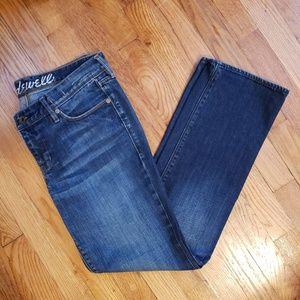 Madewell Rail Straight Leg Jeans Size 29 x 30